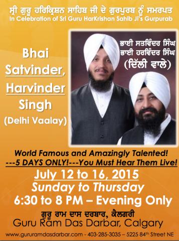 Bhai Satvinder, Harvinder Singh (Delhi Vaalay)